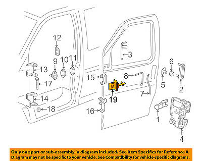 GM OEM Front Door-Check Arm Right 22768927