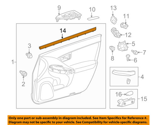 Genuine Hyundai 64100-24320 Complete Radiator Support Panel