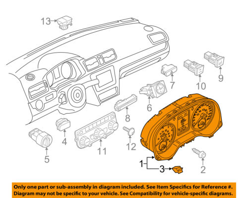 VW VOLKSWAGEN OEM 12-15 Passat Instrument Panel Dash-Tray 561857921A82V