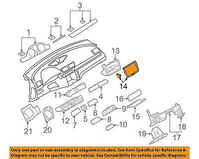 VW VOLKSWAGEN OEM 08-10 Passat Instrument Panel Dash-Trim Plate 3C0858069AEZ88