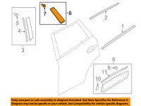 MAZDA OEM 13-15 CX-5 Fender-Wheel Fender Flare Molding Retainer Clip KD4551W24