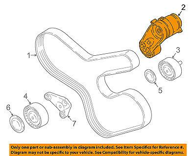 BMW OEM 08-16 X6-Serpentine Fan Belt Tensioner 11288604266