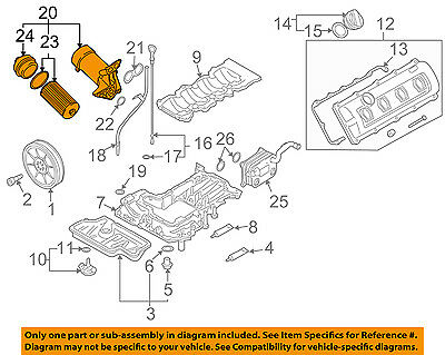 AUDI OEM 07-12 A8 Quattro Engine-Oil Filter Housing 079115401AA