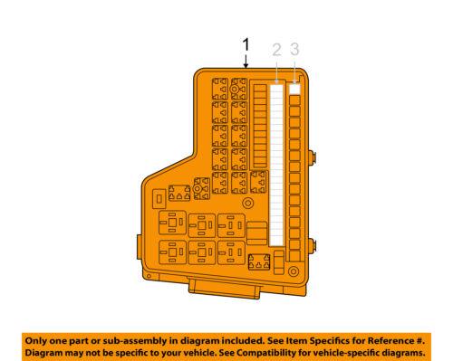 dodge chrysler oem 2007 ram 1500 5 7l v8 fuse relay. Black Bedroom Furniture Sets. Home Design Ideas