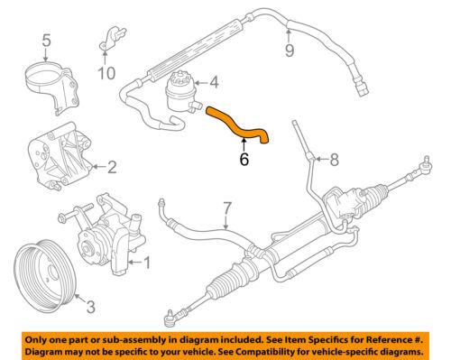 Jaguar Engine Steering Pump Diagram