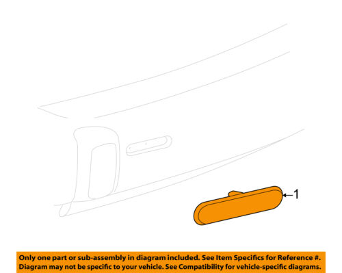 Chevrolet GM OEM 06-11 HHR Rear Reflector-Reflector Right 22724913