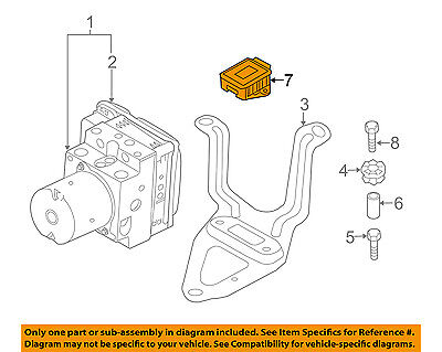 BMW OEM 15-16 X5-ABS Wheel Speed Sensor 34526878196