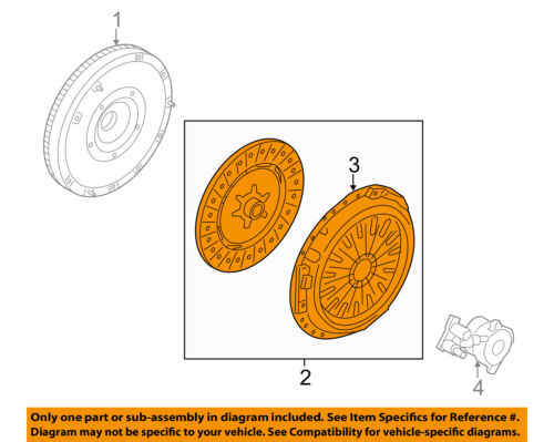 FORD OEM 13-15 Fusion-Clutch Pressure Plate AV6Z7B546R