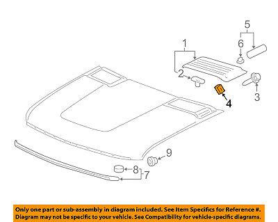 GM OEM Rear Bumper-Side Bracket Nut 11610510