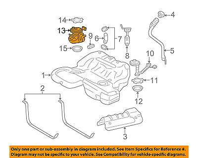 Cadillac GM OEM 05-11 STS-Fuel Pump 19181824