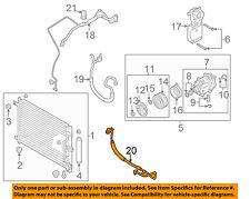 Chevrolet GM OEM 2004 Aveo-A/C AC Hose Line Pipe 96539372 ...