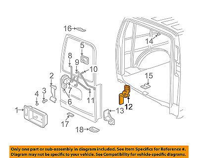 GM OEM Back Door-Upper Hinge 15994452