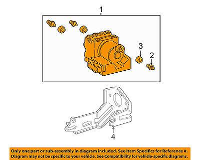 TOYOTA OEM 02-03 Sienna-ABS Pump & Motor Assy 4405008050