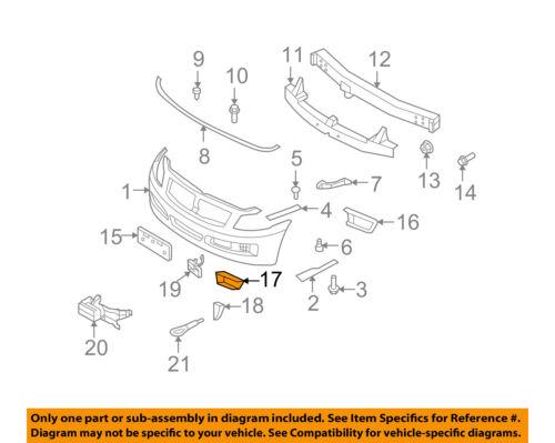 Infiniti NISSAN OEM 08-10 G37 Front Bumper-Finish Panel Bracket 622A1JL10A