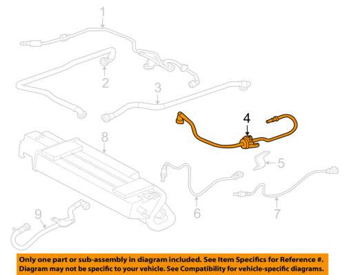 GM OEM Vapor Canister-Purge Valve Pipe Tube 12574897