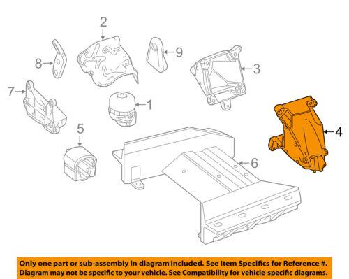 MERCEDES OEM SL400 Engine Motor & Transmission-Mounting Bracket Left 2762230504