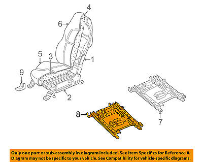 Chevrolet GM OEM 97-04 Corvette Seat Track-Adjuster 88953529