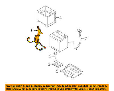 HYUNDAI OEM 2011 Accent 1.6L-L4 Battery-Positive Cable 918501E023