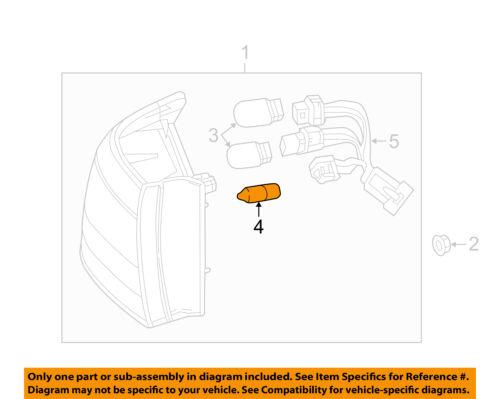 Buick GM OEM 12-14 Verano-Turn Signal Light Bulb Left 13500807