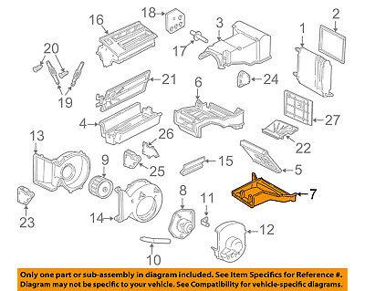 GM OEM Evaporator Heater-Heater Case 52467128