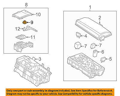 GM OEM Stabilizer Sway Bar-Front-Stabilizer Bar Nut 11516076