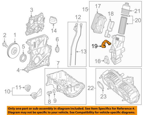 MERCEDES OEM 15-18 GLA250 2.0L-L4 Engine-Water Pipe 1332000351