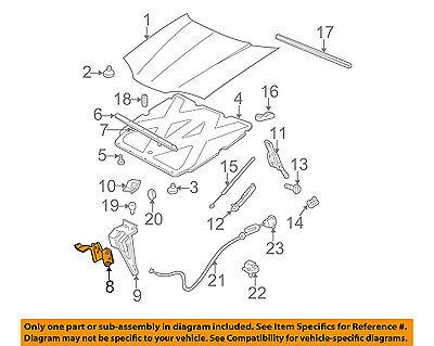Chevrolet GM OEM 00-05 Impala Hood-Lock Latch 10352081