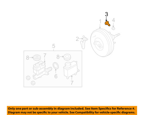 FORD OEM-Booster Retainer Clip 3M5Z2L523AA