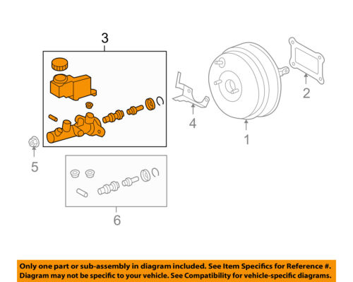 SUBARU OEM 08-14 Tribeca-Brake Master Cylinder 26401XA00A