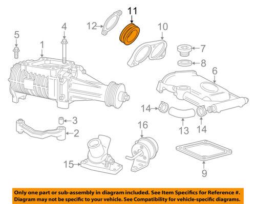 jaguar oem 07 09 xkr 4 2l v8 supercharger seal plate seal aj86925 ebay audi quattro engine diagram seller & payment information