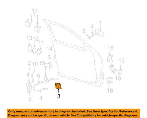 Chevy Silverado Inside Inner Interior Door Handle Right Passenger Side 15760298