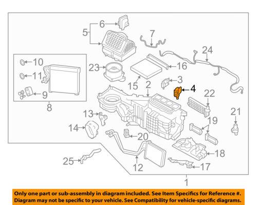 Genuine Nissan Door Actuator 27732-EZ03B