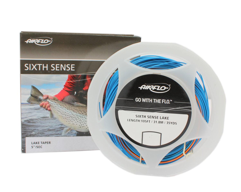 Airflo Sixth Sense Sinking Weight Forward Fly Fishing Line Sink Di5 Colour Blue Ebay