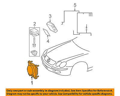 MERCEDES OEM 10-13 E63 AMG-Disc Brake Pad Electronic Wear Sensor 2115400617