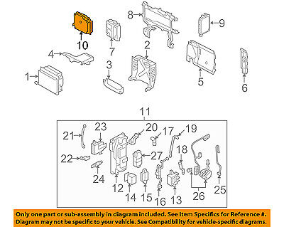 HONDA OEM 06-11 Civic ELECTRICAL-Drive Assembly 38850RMXA03