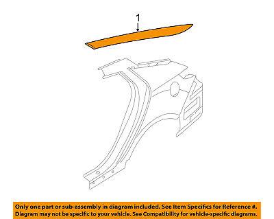 KIA OEM 11-16 Optima Exterior-Molding Trim Right 878602T000