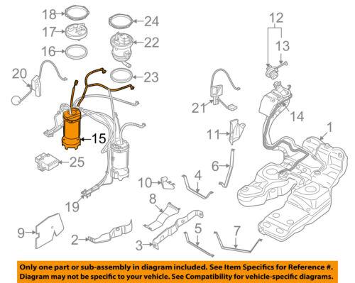AUDI OEM 12-15 Q7-bomba de combustible 4L0919087A | eBay | Audi Fuel Pump Diagram |  | eBay