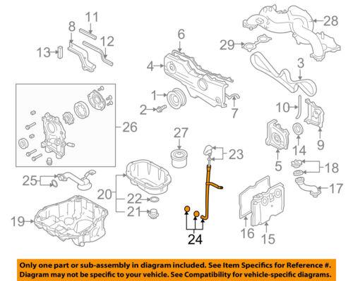 SUBARU OEM 02-07 Impreza Engine Parts-Tube 15144AA011