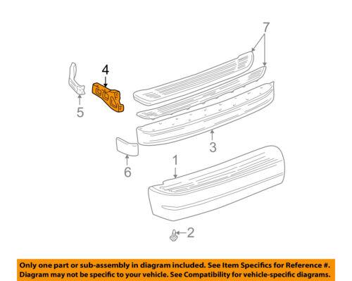 #4 on diagram only-genuine oe factory original item