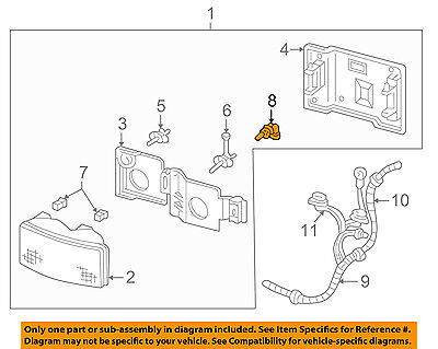 GM OEM-Headlight 19257054
