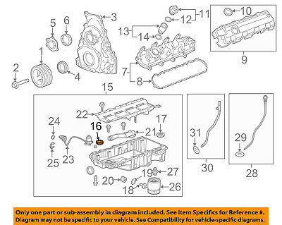 Chevrolet GM OEM 14-18 Corvette 6.2L-V8 Engine-Oil Pan Front Seal 12666993