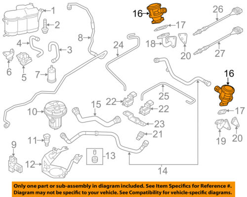 27 2001 Chevy S10 Secondary Air Injection System Diagram