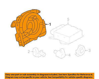 AUDI OEM 17 18 A3 Quattro Air Bag Airbag Clockspring Clock Spring 5Q0953549D