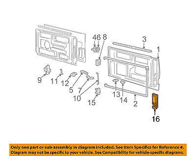 GM OEM Back Door-Handle Outside Exterior 15173052