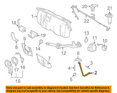 - FORD OEM Fuel Gas Tank-Support Strap 9W7Z9092A