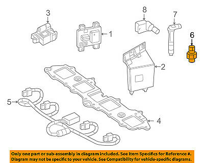 GM OEM-Ignition Knock (detonation) Sensor 12589867