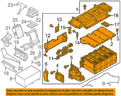 PORSCHE OEM 15-16 Panamera 3.0L-V6-Battery 7PP915590KX