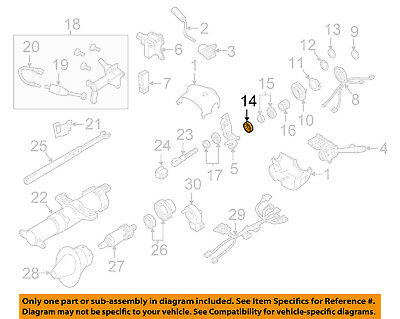 GM OEM Steering Column-Shaft Bearings 26001827