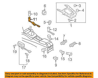 AUDI OEM 09-17 Q5 Console-Case 8J0919303