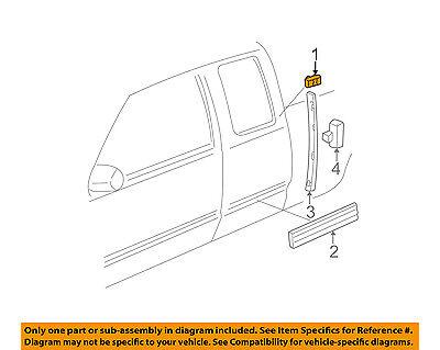 GM OEM Exterior-Cab-Emblem Badge Nameplate 15036132
